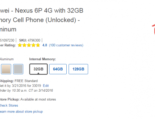 Huawei Nexus 6P is $75 off right now at Best Buy includes a Speck – CandyShell Grip Case