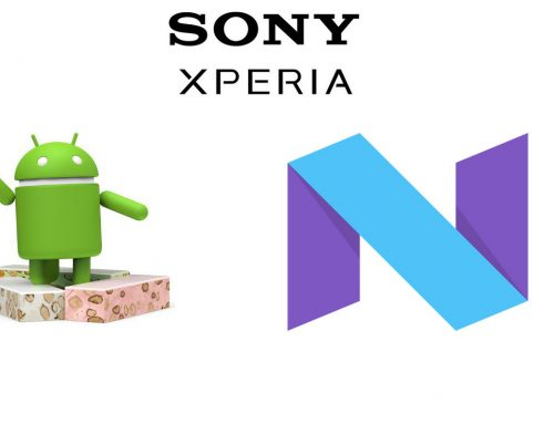 Sony releases The Android 7.1 Nougat build instructions for selected Xperia Devices